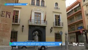 El 16 de noviembre será fiesta local en Callosa de Segura