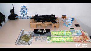 La Policía Nacional desmantela un punto de venta de drogas en Orihuela