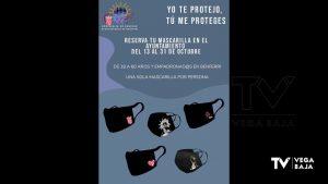 Benferri ofrece mascarillas con el logo de sus patrones para los vecinos de entre 18 y 60 años