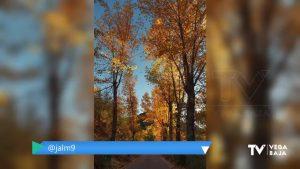 El otoño dibuja un paisaje único en la carretera con dirección al nacimiento del Río Segura