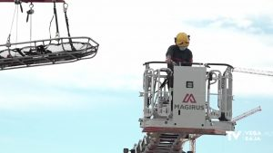 Los bomberos de la provincia cuentan con dos nuevos vehículos para rescates de gran altura