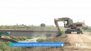 """Cambiemos llama """"atentado medioambiental"""" a la retirada de vegetación en el cauce del río"""