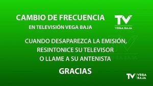 Televisión Vega Baja cambia de canal