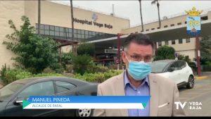 El Hospital Vega Baja cuenta con más de 40 hospitalizados y 12 pacientes en la UCI por coronavirus