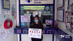 Vendido en Callosa el primer premio de la Lotería Nacional
