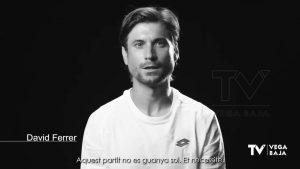 El tenista David Ferrer protagoniza la nueva campaña de prevención de la Generalitat Valenciana