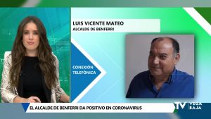 El alcalde de Benferri da positivo en coronavirus