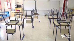 Hay más de 200 grupos de alumnos confinados en la provincia de Alicante