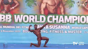 El oriolano Víctor Manuel Rubio consigue la 5ª posición en el Campeonato Mundial de Culturismo
