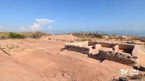La playa de El Moncayo fue una villa rústica romana
