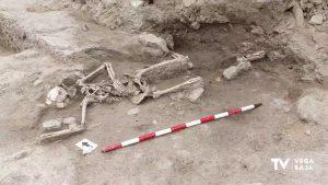 Encuentran en el Castillo de Guardamar restos de un hombre que murió en el siglo XIV