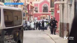 Gran despliegue policial contra el tráfico de drogas en Orihuela