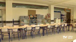 Baja el número de alumnos confinados en los centros educativos de la provincia de Alicante