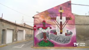 Más color para la pedanía almoradidense La Cruz de Galindo