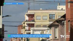 Se adjudican 14 viviendas públicas a familias en riesgo de exclusión de Almoradí en los últimos años