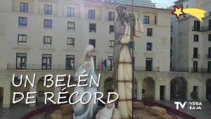 El belén más grande del mundo está en Alicante