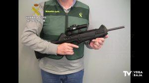 La Guardia Civil desarticula una red de tráfico de armas asentada en la provincia de Alicante