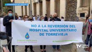 """Sanidad niega """"desprecios xenófobos"""" en el encuentro con trabajadores del Departamento de Torrevieja"""