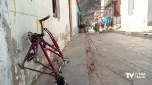 Siete familias de la calle San Bruno de Callosa serán desalojadas por seguridad