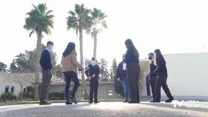"""Alumnos del centro de enseñanza """"El Campico"""" versionan un villancico con fines solidarios"""