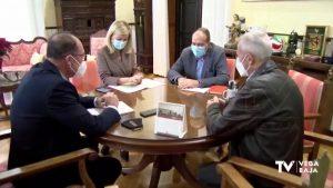 Bascuñana y Bravo determinan las parcelas para la ampliación del Palacio de Justicia de Orihuela