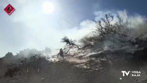 La provincia de Alicante sufre ocho intervenciones de los bomberos en un día