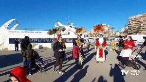 Llegan a Torrevieja sus majestades los Reyes Magos de Oriente