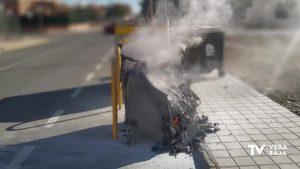 La Policía Local de Redován alerta del número de contenedores quemados en los últimos días