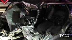 Fallece un hombre en un choque frontal en la AP-7 tras la salida a Torrevieja