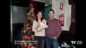 La catralense Paula, primer bebé que nace en la Vega Baja en 2021