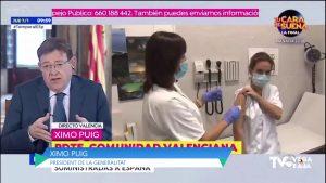 La Comunidad Valenciana administra el 14% de vacunas entre el 27 de diciembre y el 5 de enero
