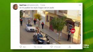 La cabalgata de Benejúzar se hace viral en redes sociales