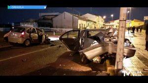 Un choque frontal en la Carretera de Beniel deja cinco heridos: dos de ellos, en estado grave