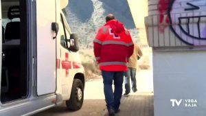 "Cruz Roja da ""calor"" a las personas sin hogar"
