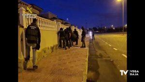 Cae una organización criminal asentada en la Vega Baja dedicada al tráfico de drogas