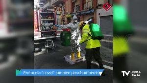Este es el protocolo de los bomberos cuando se enfrentan a casos sospechosos de coronavirus