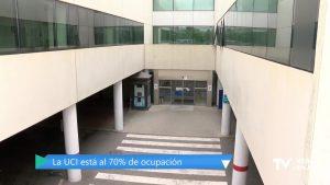 """El Hospital de Torrevieja ya supera los 150 pacientes """"covid"""""""