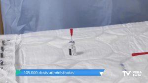 La Comunidad Valenciana tendrá más vacunas en febrero para compensar la reducción de dosis