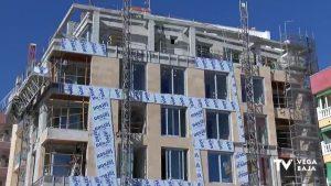 La construcción cae un 50% en la Vega Baja