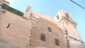 La iglesia de San Agustín de Orihuela se cae mientras llega el acuerdo entre Ayuntamiento y Obispado