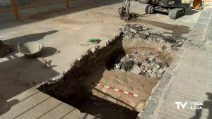 Nuevo hallazgo de un fragmento de muralla de época islámica en Orihuela