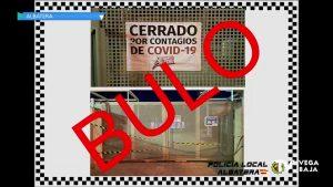 El Ayuntamiento de Albatera informa que las clases en el IES Antonio Serna continúan de manera normal
