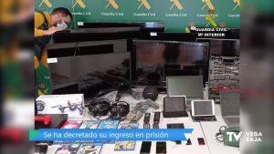 Robaba en casas de la Vega Baja para vender después el botín en el mercado negro