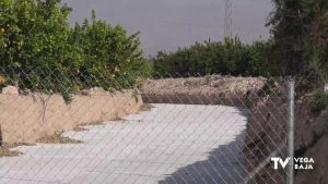 La Fiscalía investiga una obra privada que desvía las aguas torrenciales hacia Benferri