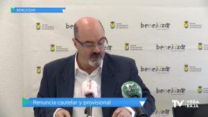 """El concejal de sanidad de Benejúzar renuncia de forma """"cautelar y provisional"""" a sus competencias"""