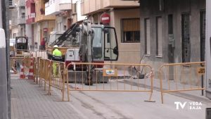 Bigastro inicia las obras en su casco antiguo para cambiar la red de agua potable