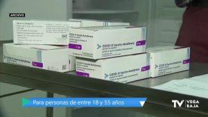 La Comunidad Valenciana comienza la administración de la vacuna de AstraZeneca