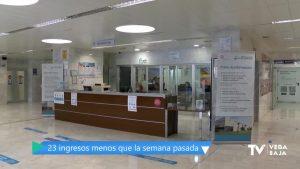 81 pacientes permanecen ingresados en el Hospital de Torrevieja: 64 en planta y 17 en UCI