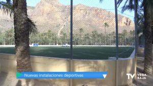 Orihuela está a un paso de culminar las obras del polideportivo del Palmeral