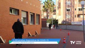 Torrevieja realiza 2.400 pruebas de COVID-19 en quince días